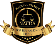 NACDA Top Ten Ranking 2017 Badge